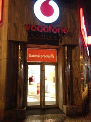 Vodafone - Internet Service Providers - Jugoslávská 11, Praha 2