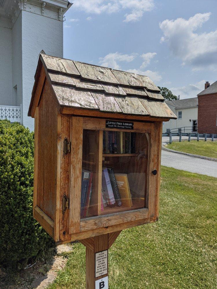 Little Free Library: 3 E Main St, Burkittsville, MD