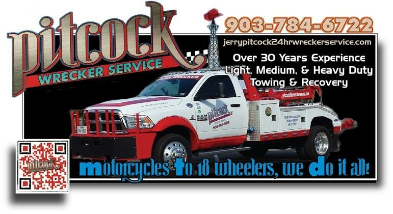 Jerry Pitcock 24 Hr Wrecker Service: 2425 Yoder Rd, Paris, TX