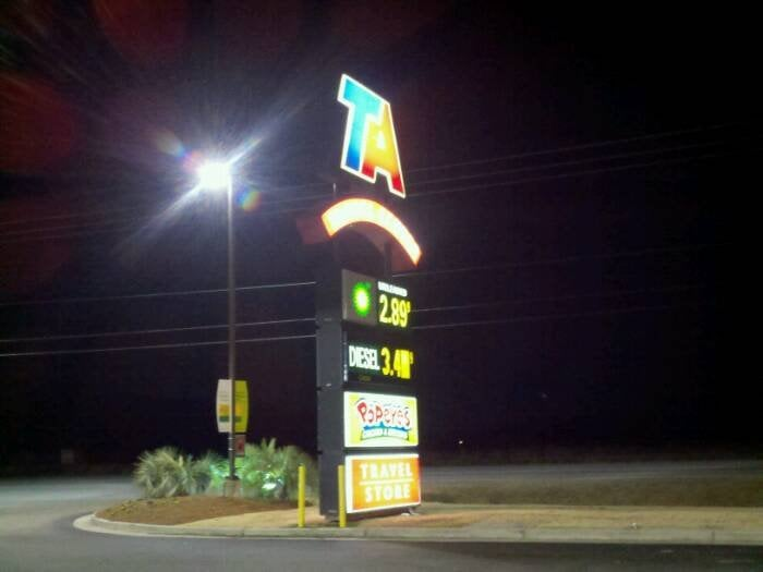 Travel Centers of America: 2301 W Lucas St, Florence, SC