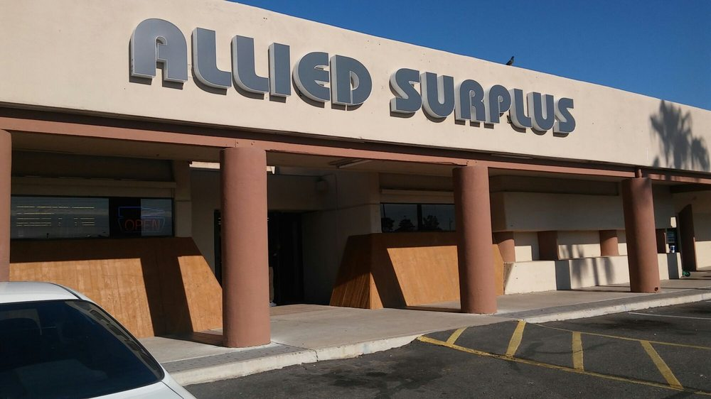 Allied Surplus: 12450 N 35th Ave, Phoenix, AZ