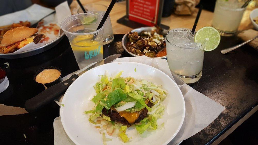 Food from Grub Burger Bar