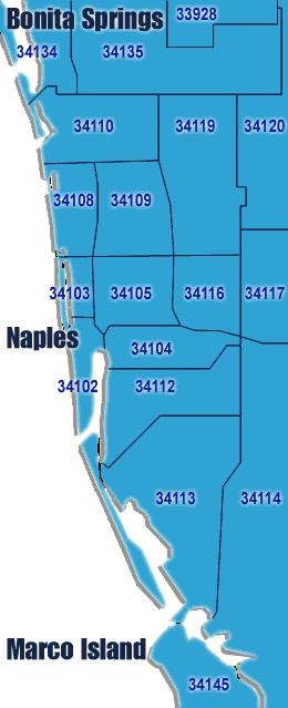 Naples Florida Zip Code Map Yelp