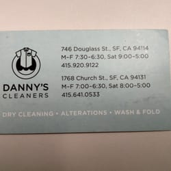 Dannys cleaners 16 reviews laundry services 746 douglass st photo of dannys cleaners san francisco ca united states business card colourmoves Image collections