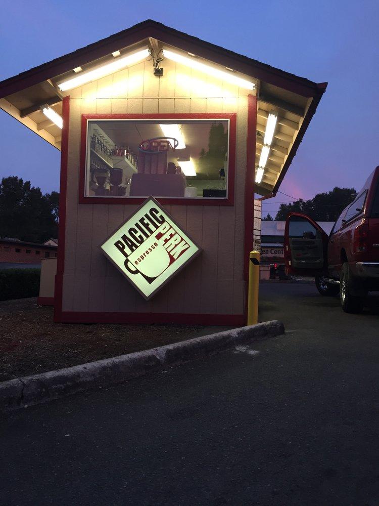 Pacific Perk Espresso: 1405 SE Pacific Blvd, Albany, OR
