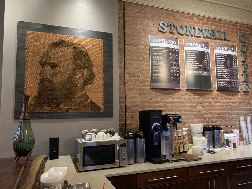 Stonewall Coffee: 218 Court St, Clarksburg, WV