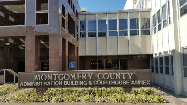 Montgomery County Court Annex 1 - Courthouses - 100 S