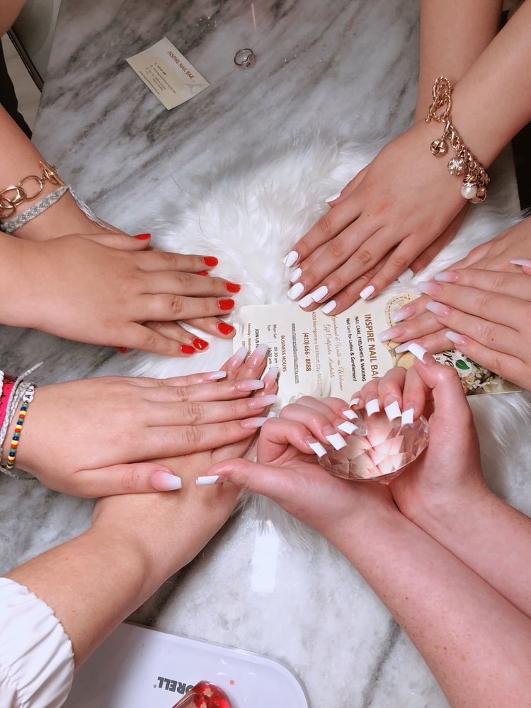 Inspire Nail Bar: 4350 Montgomery Rd, Ellicott City, MD