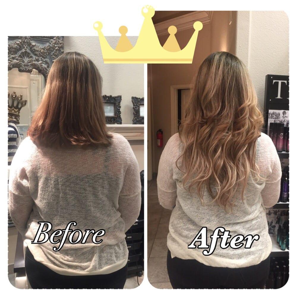 Keratin Bond Hair Extensions Mermaid Hair Yelp