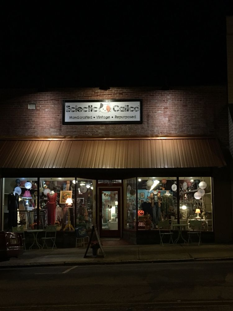 Eclectic Calico: 109 W Murphy St, Madison, NC