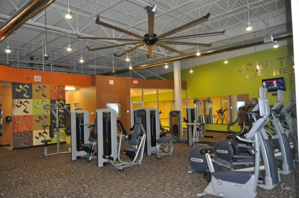 Anytime Fitness Bulverde Road Circuit Training Area Yelp