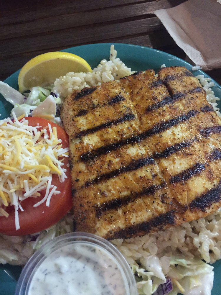 Blackened mahi yelp for Coconut s fish cafe