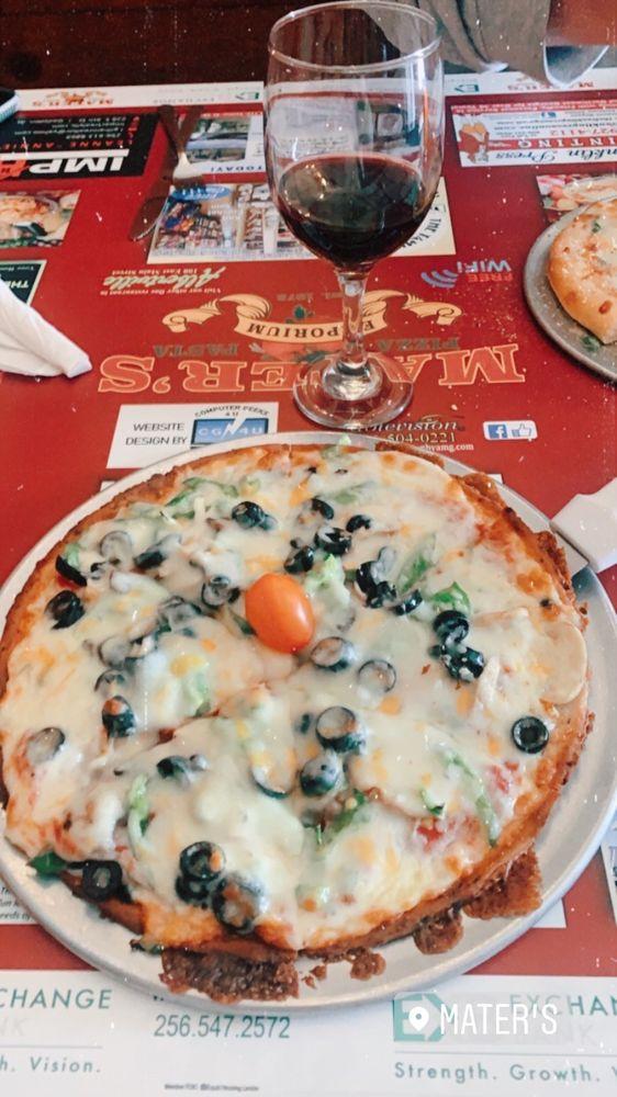 Mater's Pizza & Pasta Emporium: 329 Locust St, Gadsden, AL