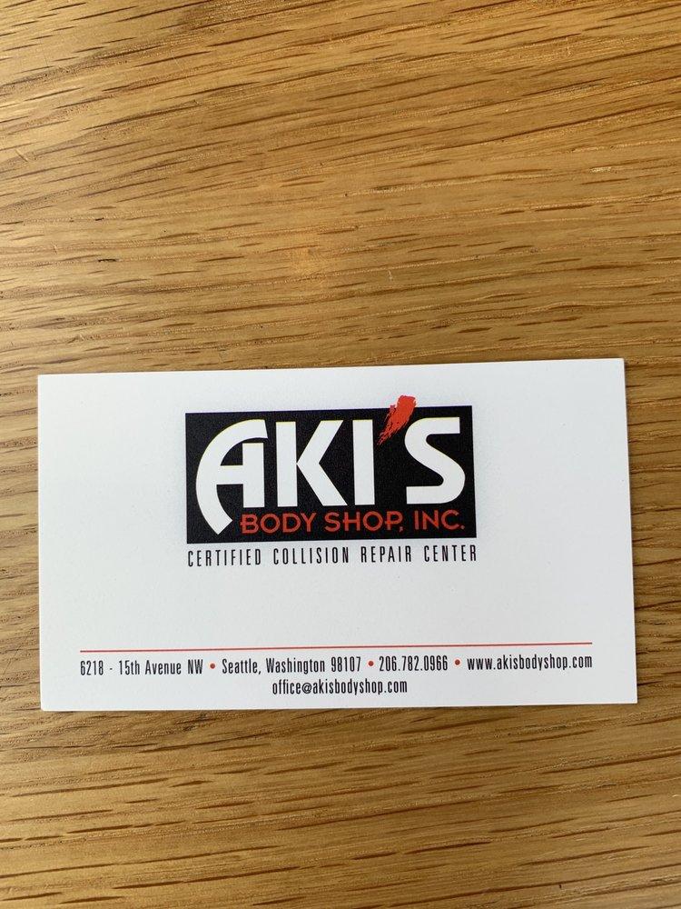 Aki's body shop - 64 Reviews - Body Shops - 6218 15th Ave NW