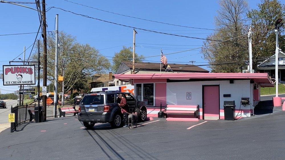 Punks Ice Cream Shoppe: 898 State St, Baden, PA