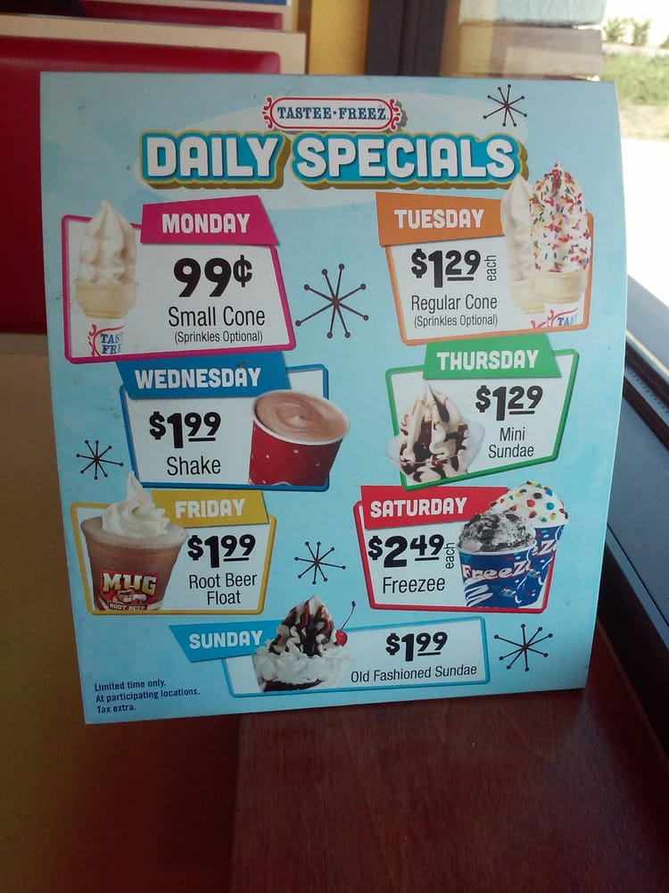 Daily Specials Yelp