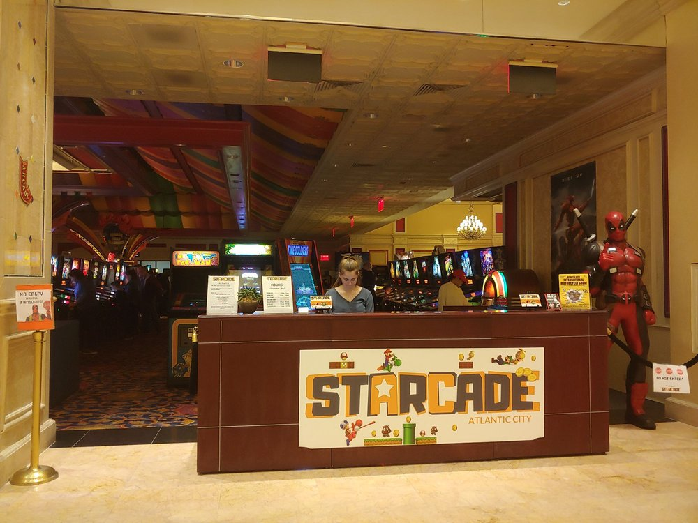 Starcade: 801 Boardwalk, Atlantic City, NJ