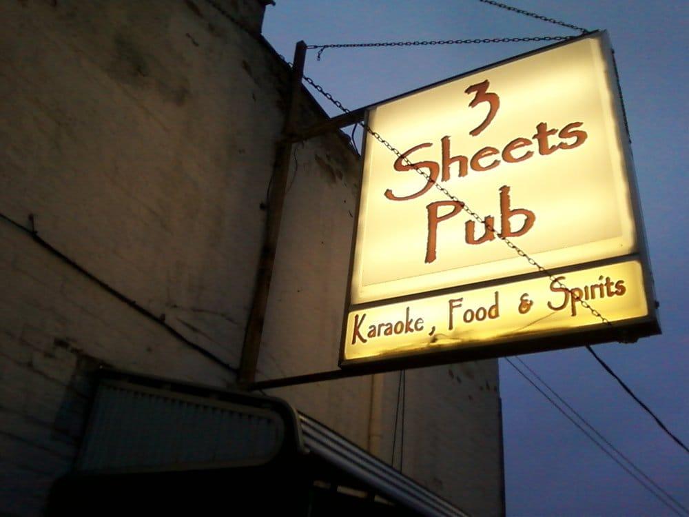 3 Sheets Pub: 122 W Main St, Rockton, IL