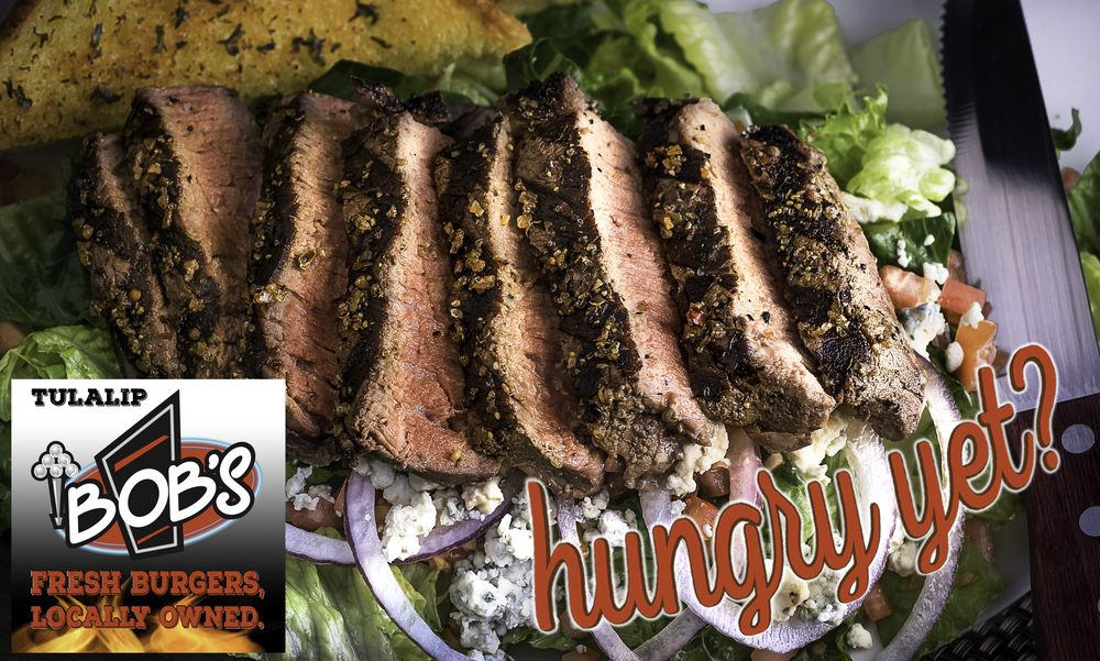 Bob's Burgers & Brew: 8822 Quilceda Pkwy, Tulalip, WA