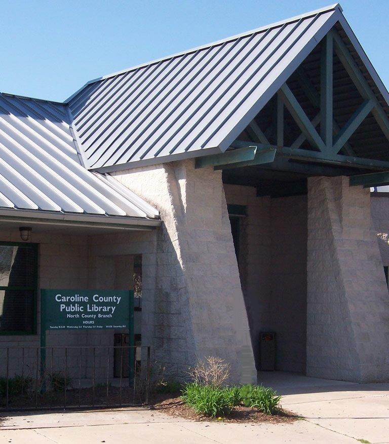 Caroline County Public Library - North County Branch: 101 Cedar Ln, Greensboro, MD