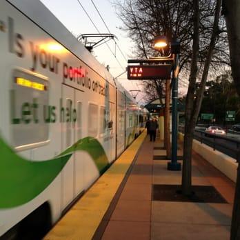 Photo Of VTA Light Rail Metro Airport Station   San Jose, CA, United States