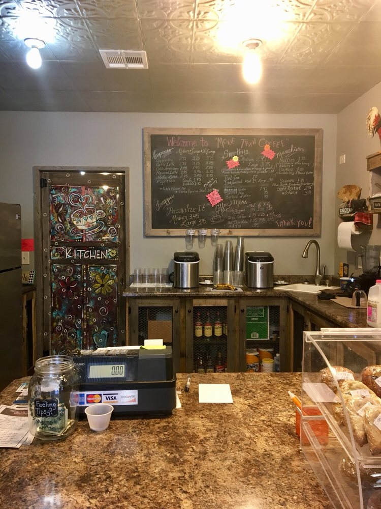 More Than Coffee: 121 S Pennsylvania Ave, Ness City, KS