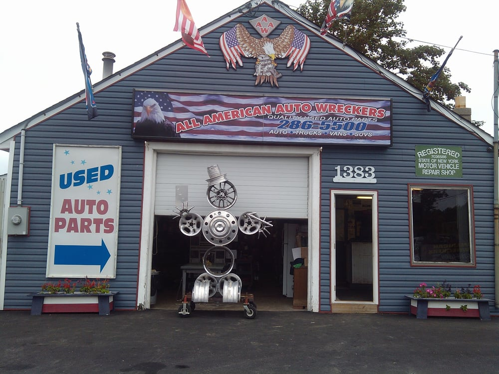 All American Auto Wreckers: 1383 Montauk Hwy, East Patchogue, NY