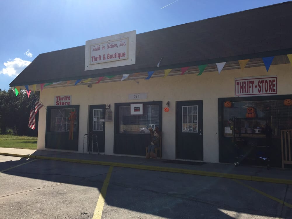 Faith In Action , Thrift and Boutique: 525 Berkeley Rd, Auburndale, FL
