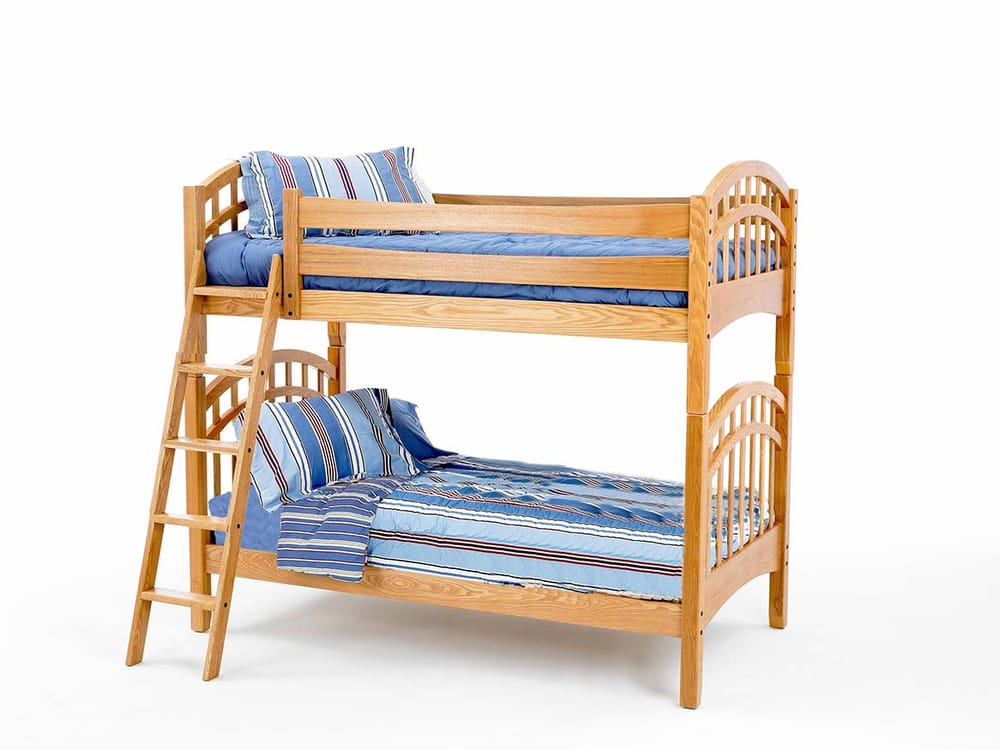 Solid Wood Bunk Bed At Wenger Furniture Los Angeles On