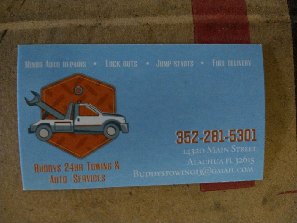 Towing business in Alachua, FL