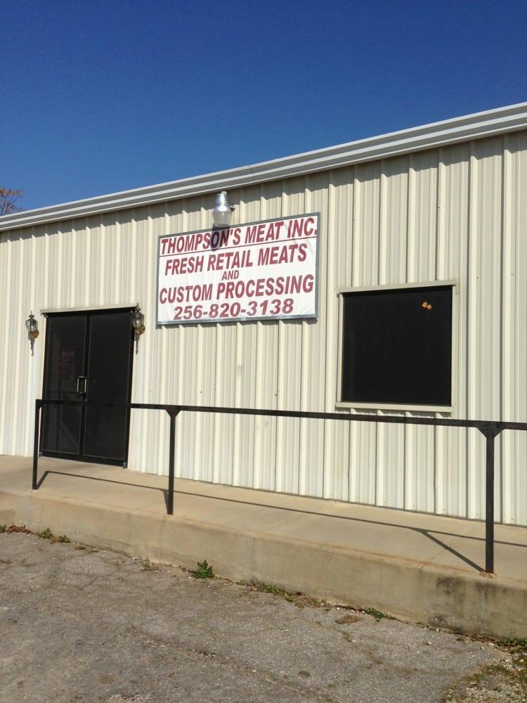 Thompson's Meat Processing: 987 Halls Chapel Rd, Alexandria, AL