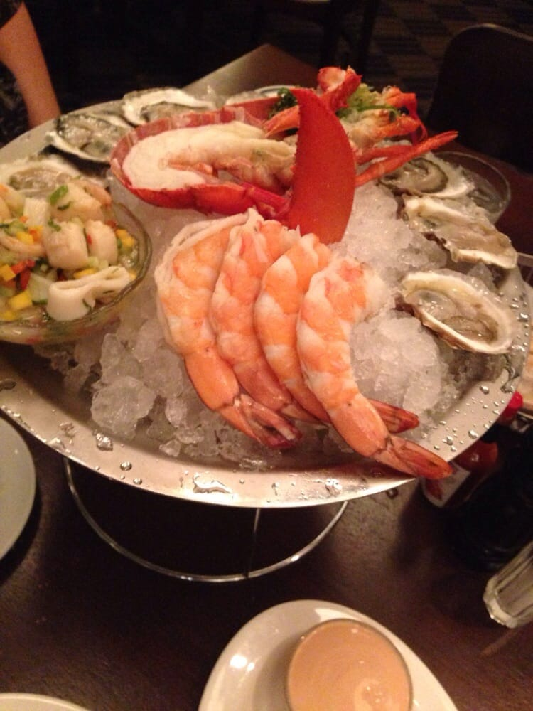 Seafood tower yelp for Fish market boca
