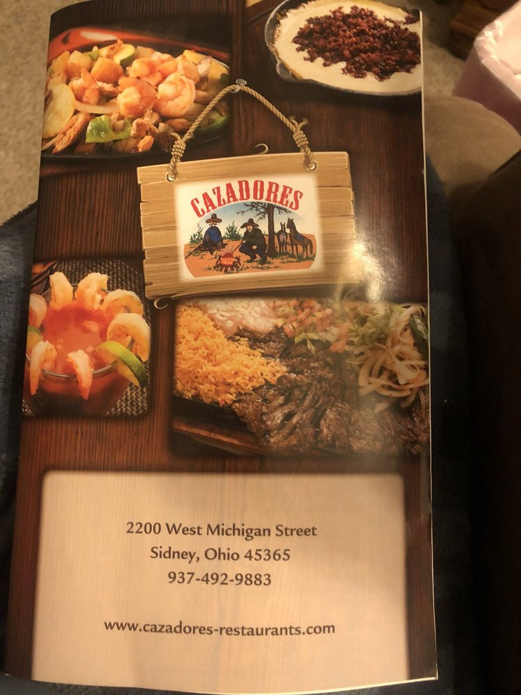 Cazadores: 2200 Michigan St, Sidney, OH