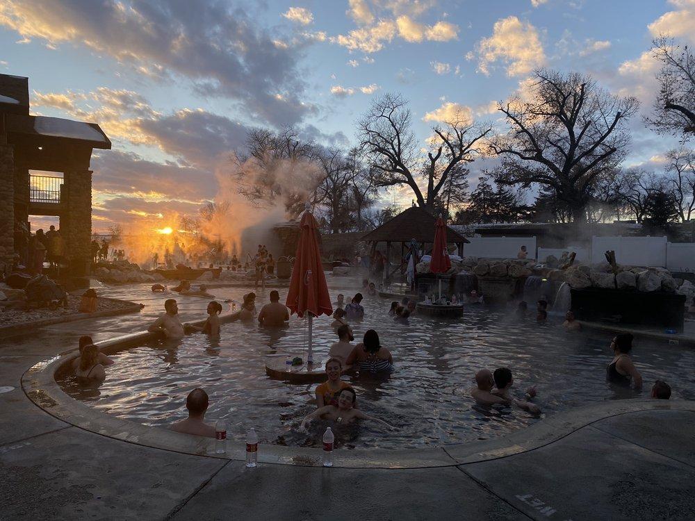 Crystal Hot Springs: 8215 N Hwy 38, Honeyville, UT