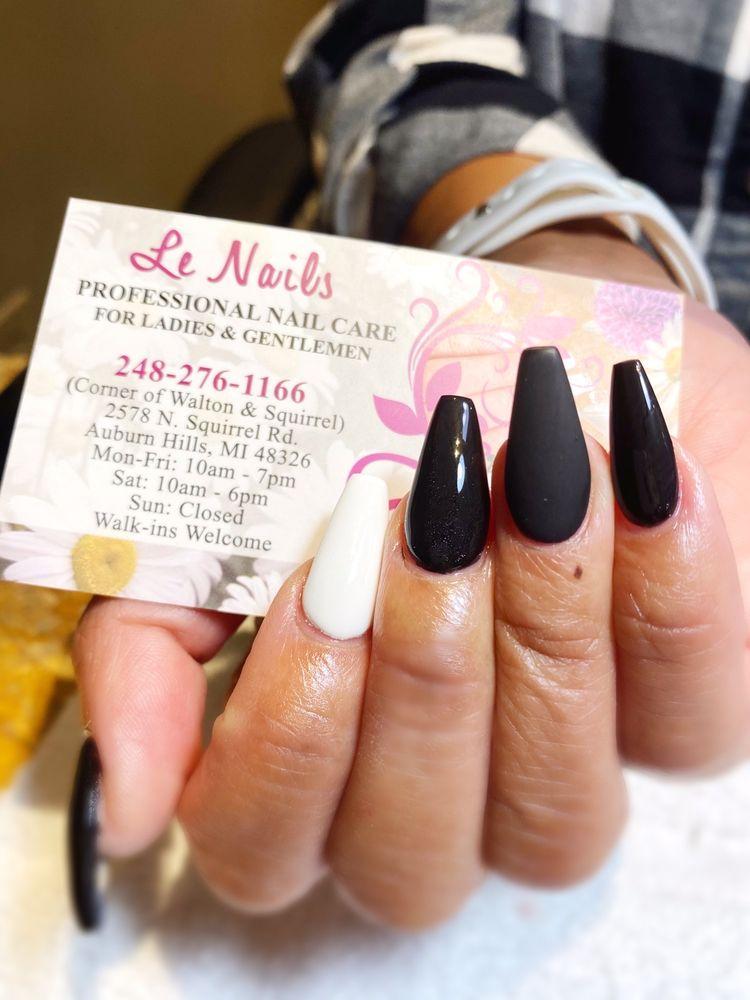Le Nails: 2578 N Squirrel Rd, Auburn Hills, MI