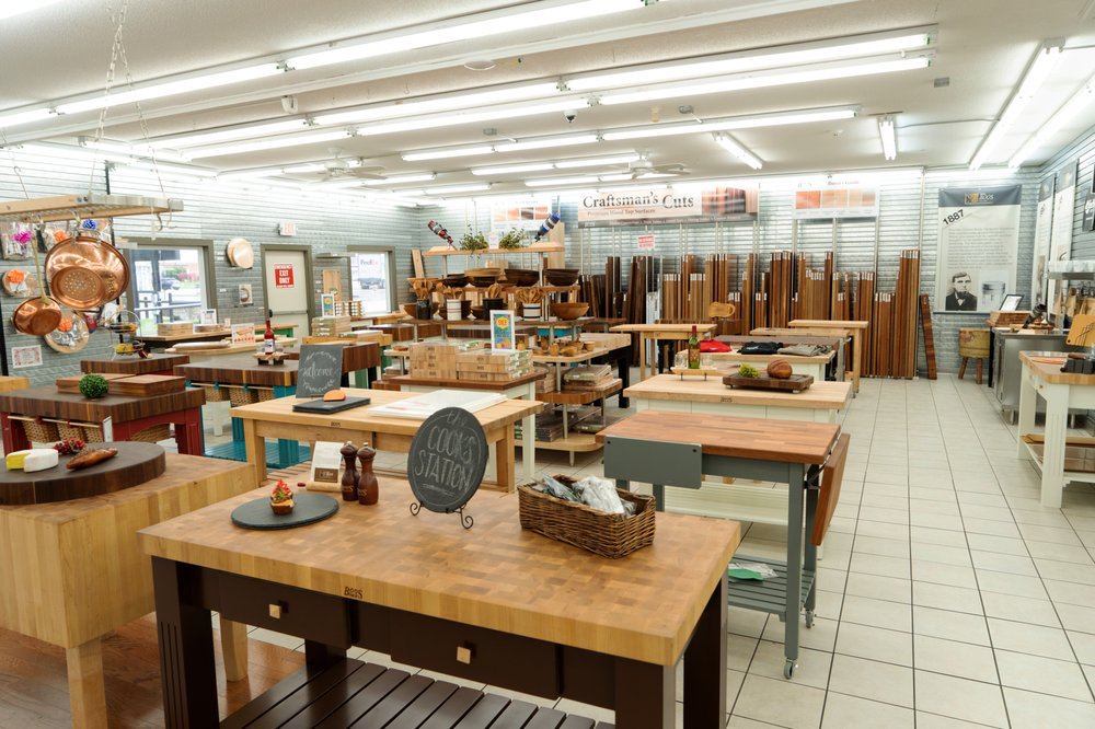 John Boos Factory Showroom & Outlet: 1703 Avenue Of Mid America, Effingham, IL