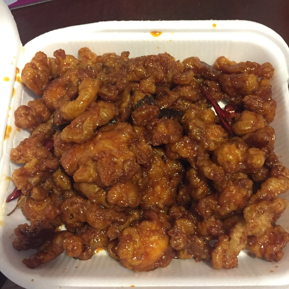 Orange chicken yelp for Lucky wok garden city