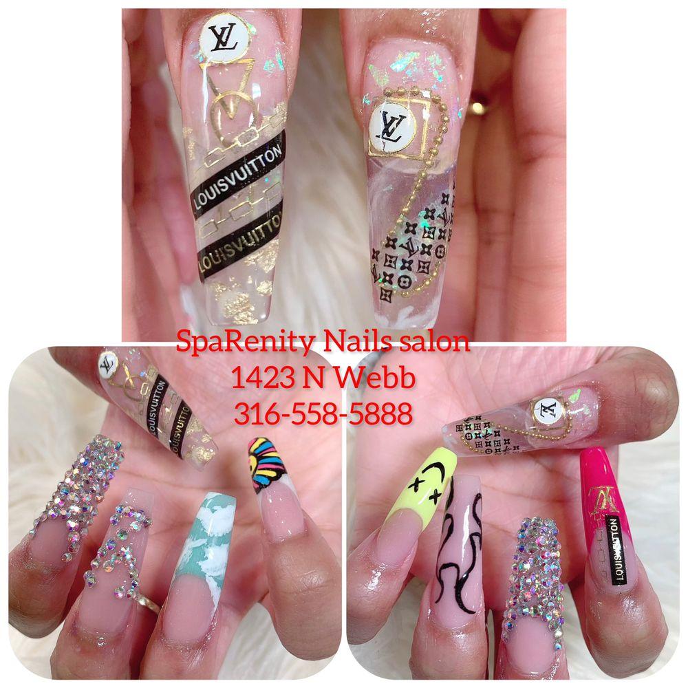 SpaRenity Nails & Organics: 1423 N Webb Rd, Wichita, KS