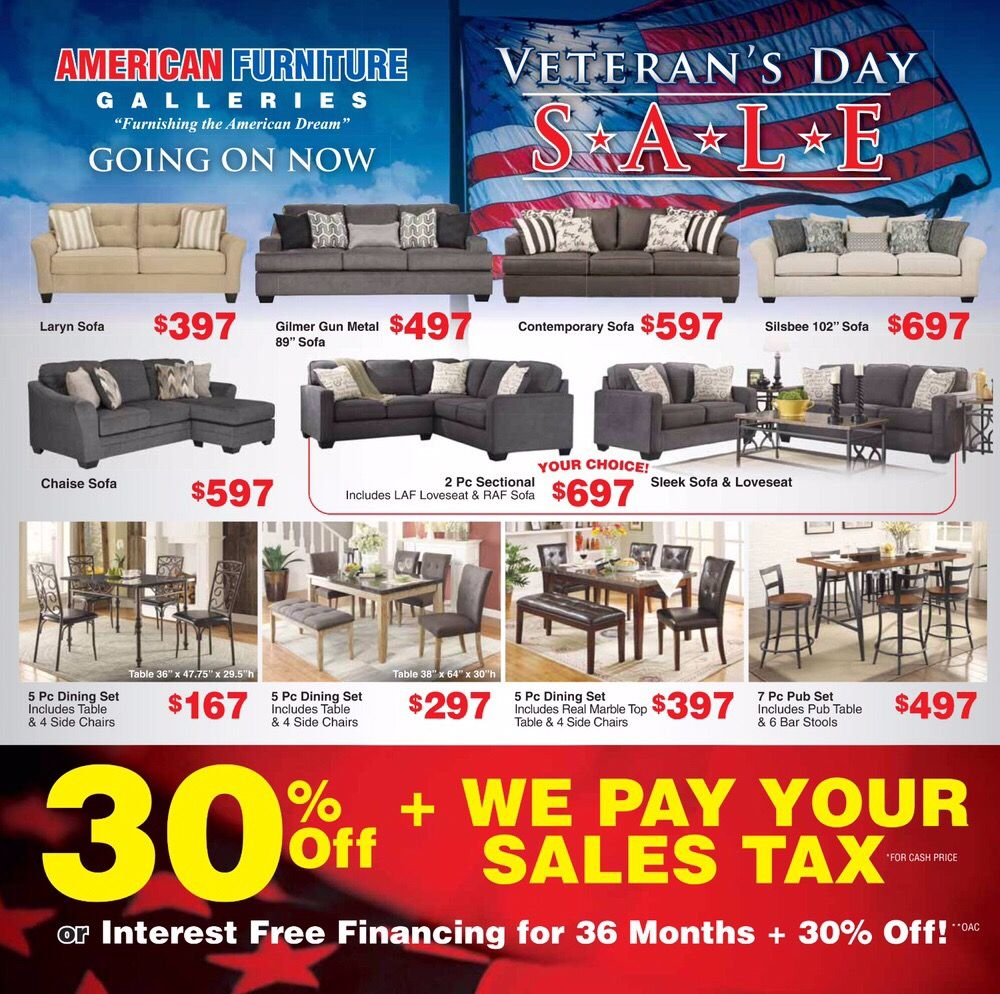 VETERAN'S DAY SALE! 30% Off + We Pay Your Sales Tax Or