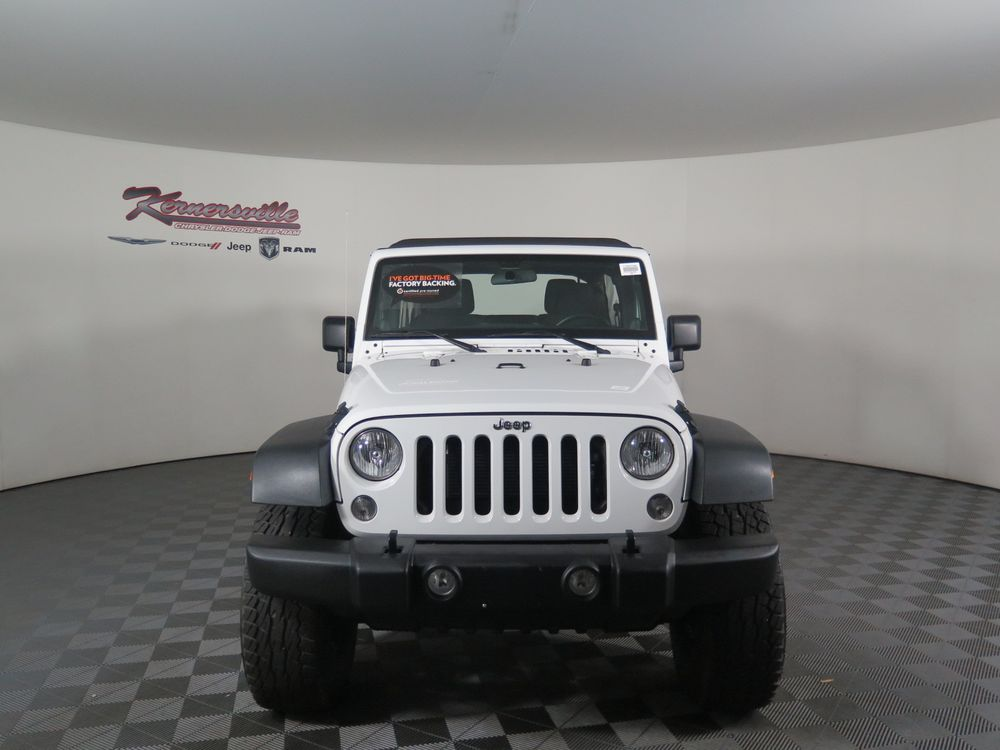 Kernersville Chrysler Dodge Jeep >> Certified Pre Owned Up Fit Used 2017 Jeep Wrangler Unlimited At