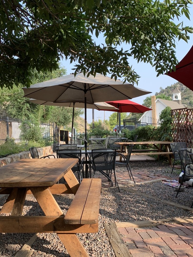 Red Rocks Beer Garden: 116 Stone St, Morrison, CO