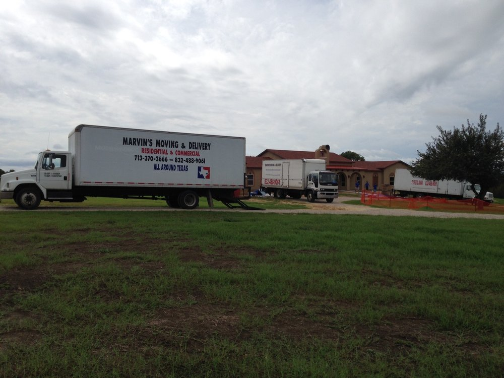 Marvin's Moving and Delivery: 12311 Split Rail Ln, Houston, TX