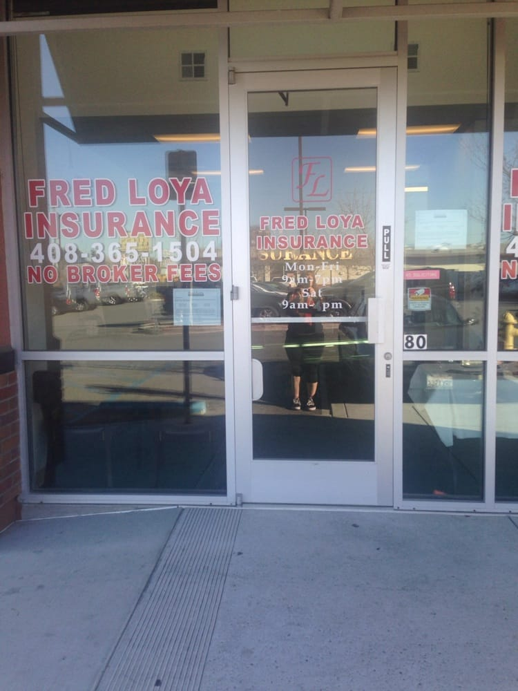 Fred Loya Insurance Quote Custom Fred Loya Insurance  Insurance  2961 Monterey Hwy Fairgrounds