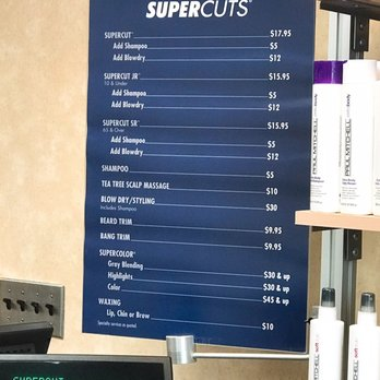 haircut prices supercuts supercuts 11 photos amp 20 reviews hair salons 77 6276 | 348s