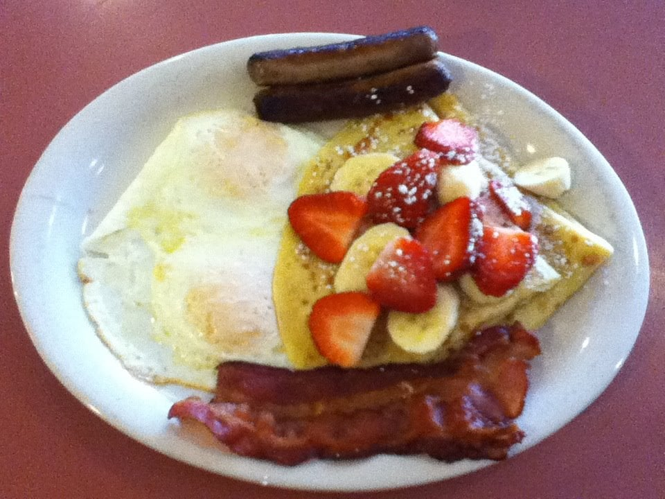 Strawberry-banana crepes combo - Yelp