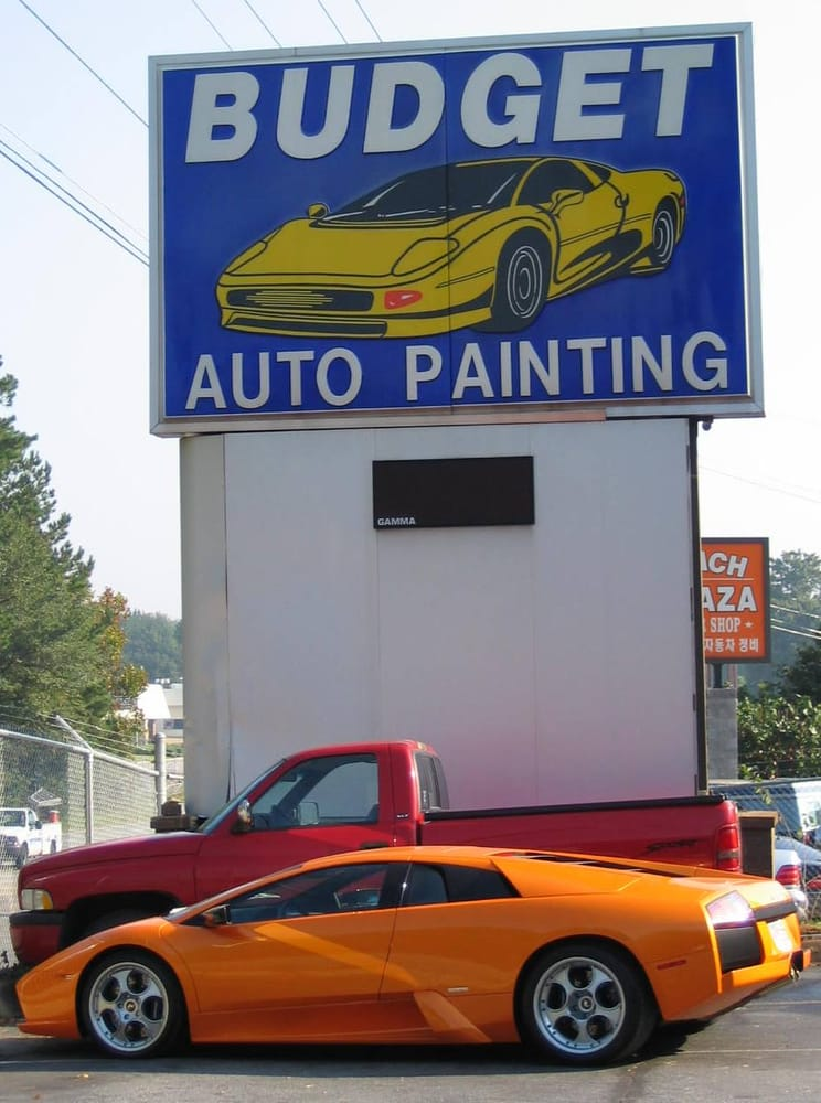 We work on exotics as well yelp for Car painting atlanta