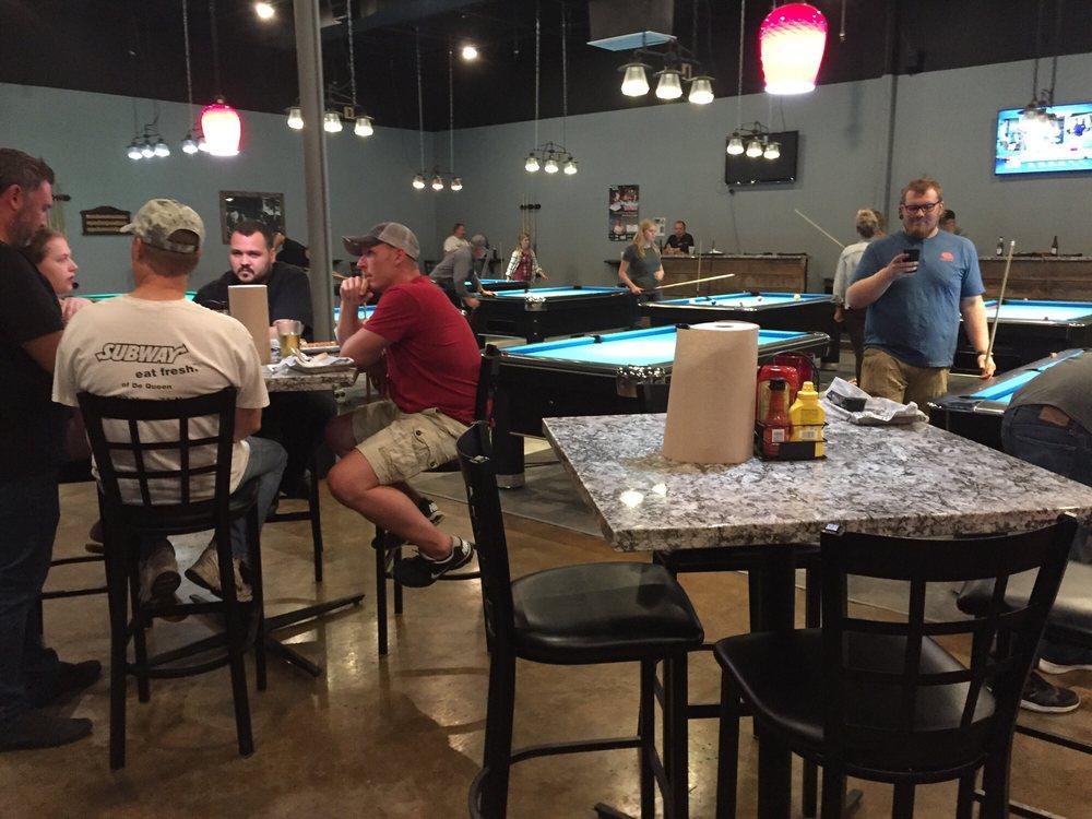 The Cue Eatery & Poolhall: 1205 N 10th St, Arkadelphia, AR