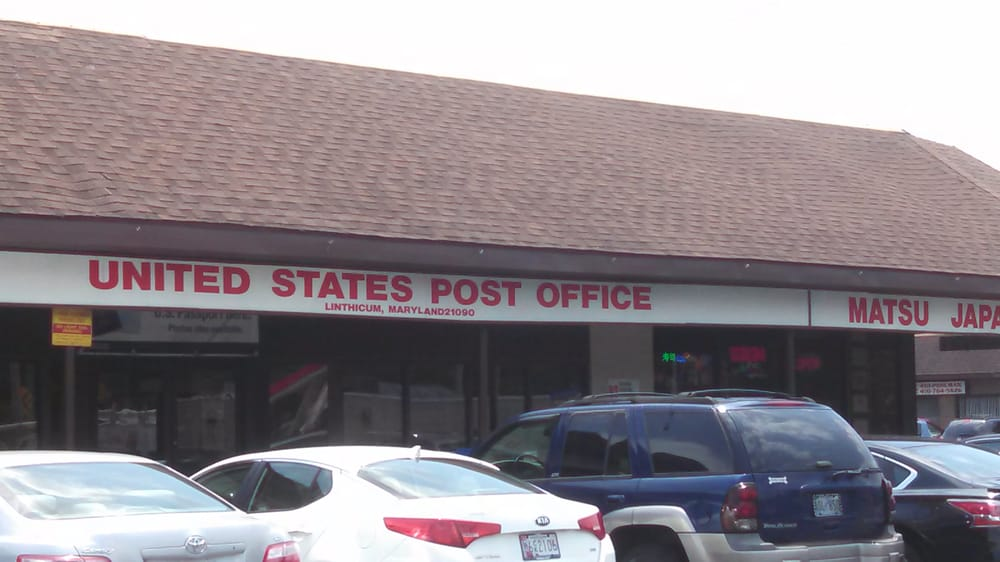 United States Post Office: 515 S Camp Meade Rd, Linthicum Heights, MD