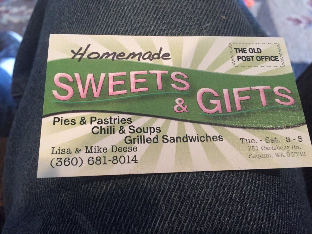 The Old Post Office Sweets and Gifts: 751 Carlsborg Rd, Sequim, WA