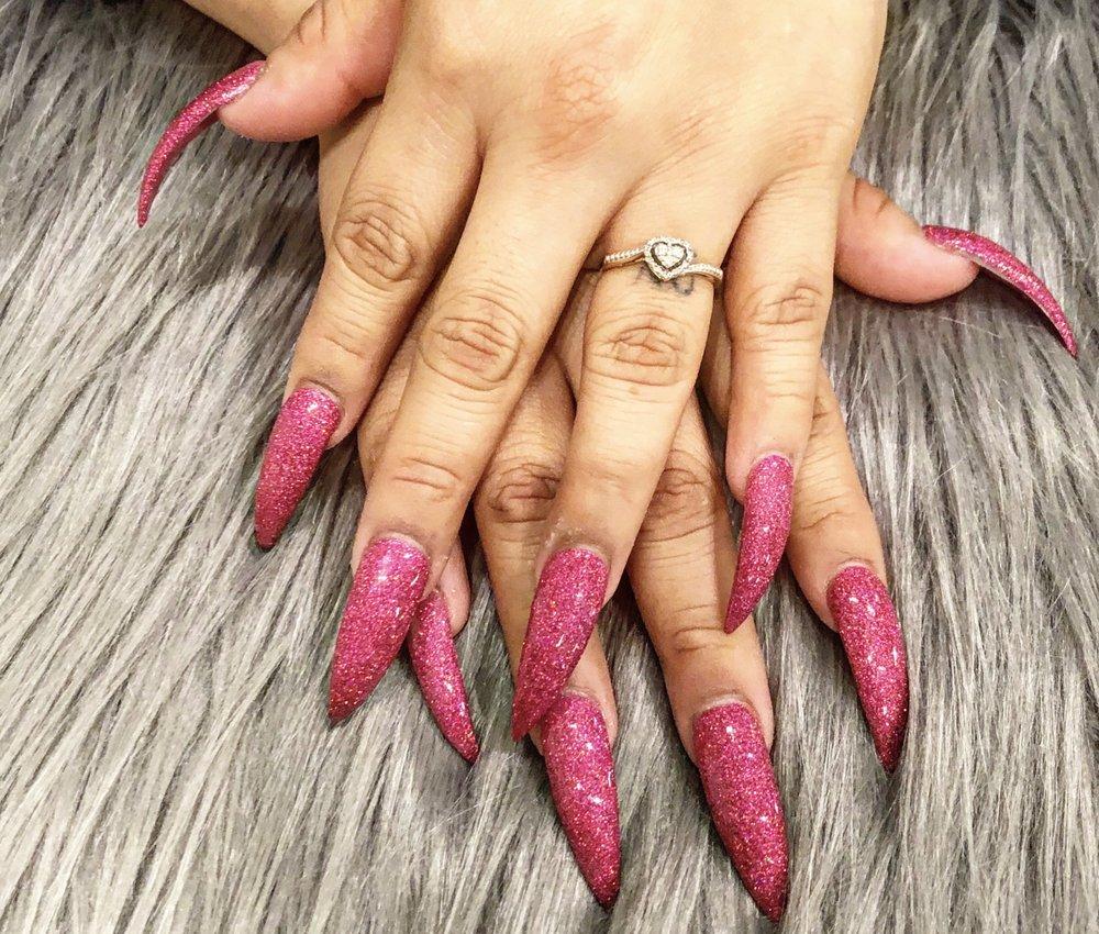 stiletto nail shape - Yelp